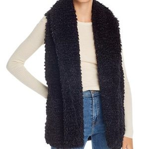 Max Studio Teddy Faux Fur Vest